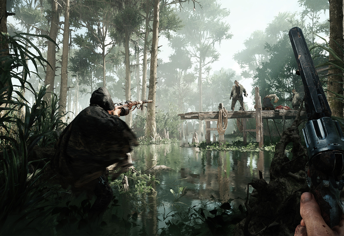 Gameplay footage E3 Hunt:Showdown